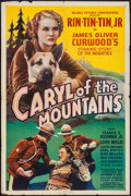 "Movie Posters:Action, Caryl of the Mountains (William Steiner, 1936). One Sheet (27"" X41""). Action.. ..."
