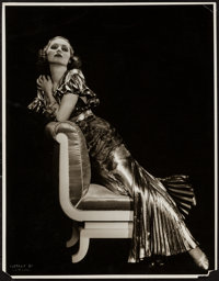"""Adrienne Ames by Otto Dyar (Paramount, 1930s). Portrait Photo (10.75"""" X 13.75""""). Miscellaneous"""