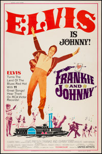 """Frankie and Johnny (United Artists, 1966). Poster (40"""" X 60"""") Style Z. Elvis Presley"""