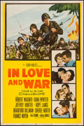 """Movie Posters:War, In Love and War & Other Lot (20th Century Fox, 1958). Posters(2) (40"""" X 60"""") Style Y & Regular. War.. ... (Total: 2 Items)"""