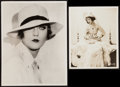 """Movie Posters:Miscellaneous, Marion Davies in Buried Treasure by Ira Hills & Other Lot (Paramount, 1921). Photos (2) (8"""" X 10"""", 10.5"""" X 13.5""""). Miscellan... (Total: 2 Items)"""