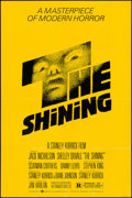 "Movie Posters:Horror, The Shining (Warner Brothers, 1980). One Sheet (27"" X 40.5"").Horror.. ..."