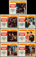"""Movie Posters:Romance, Funny Face (Paramount, 1957). Lobby Cards (7) (11"""" X 14""""). Romance.. ... (Total: 7 Items)"""