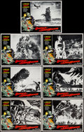 "Movie Posters:Science Fiction, Godzilla vs. the Smog Monster (American International, 1972). LobbyCards (7) (11"" X 14""). Science Fiction.. ... (Total: 7 Items)"