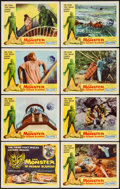 "Movie Posters:Horror, The Monster of Piedras Blancas (Film Service Distributing, 1959). Lobby Card Set of 8 (11"" X 14""). Horror.. ... (Total: 8 Items)"