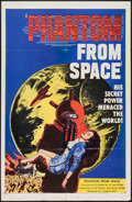 """Movie Posters:Science Fiction, Phantom from Space (United Artists, 1953). One Sheet (27"""" X 41""""). Science Fiction.. ..."""