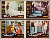 "Niagara (20th Century Fox, 1953). Lobby Cards (4) (11"" X 14""). Film Noir. ... (Total: 4 Items)"