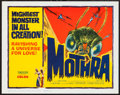 """Movie Posters:Science Fiction, Mothra (Columbia, 1962). Title Lobby Card (11"""" X 14""""). Science Fiction.. ..."""