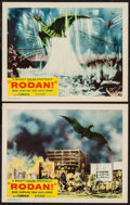 "Movie Posters:Science Fiction, Rodan! The Flying Monster (RKO, 1957). Lobby Cards (2) (11"" X 14"").Science Fiction.. ... (Total: 2 Items)"
