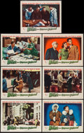 """Movie Posters:Science Fiction, The Beast from 20,000 Fathoms (Warner Brothers, 1953). Lobby Cards(7) (11"""" X 14""""). Science Fiction.. ... (Total: 7 Items)"""