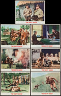 """Movie Posters:War, The Dirty Dozen (MGM, 1967). Lobby Cards (7) (11"""" X 14""""). War.. ...(Total: 7 Items)"""