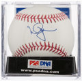 Autographs:Baseballs, Mark McGwire Single Signed Baseball - PSA/DNA 8.5. ...