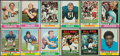 Football Cards:Sets, 1974 Topps Football Complete Set (528). ...