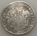 German States:Saxony, German States: Saxony. Christian II Johann Georg & August Taler 1595-HB VF,...