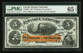 Canadian Currency: , Quebec City, PQ- La Banque Nationale $5 Jan. 2, 1897 Ch. #510-20-02. ...