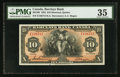 Canadian Currency: , Montreal, PQ- Barclays Bank (Canada) $10 Jan. 2, 1935 Ch. #30-12-08. ...
