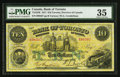 Canadian Currency: , Toronto, ON- The Bank of Toronto $10 February 1, 1917 Ch. #715-22-36. ...