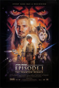 "Movie Posters:Science Fiction, Star Wars: Episode I - The Phantom Menace (20th Century Fox, 1999).One Sheet (26.75"" X 39.75"") DS Style B. Science Fiction...."