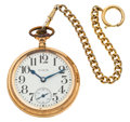 Timepieces:Pocket (post 1900), Elgin 17 Jewel 18 Size Pocket Watch. ...