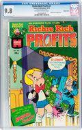 Bronze Age (1970-1979):Cartoon Character, Richie Rich Profits #1 Double Cover (Harvey, 1974) CGC NM/MT 9.8Off-white to white pages....