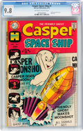 Bronze Age (1970-1979):Cartoon Character, Casper Spaceship #1 (Harvey, 1972) CGC NM/MT 9.8 Off-white to whitepages....