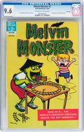 Silver Age (1956-1969):Humor, Melvin Monster #1 File Copy (Dell, 1965) CGC NM+ 9.6 Off-white to white pages....