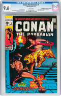 Bronze Age (1970-1979):Adventure, Conan the Barbarian #5 Don/Maggie Thompson Collection pedigree (Marvel, 1971) CGC NM+ 9.6 White pages....