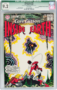 Showcase #52 Cave Carson - Don/Maggie Thompson Collection pedigree (DC, 1964) CGC Qualified NM- 9.2 White pages