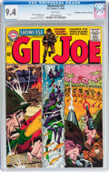 Silver Age (1956-1969):War, Showcase #53 G. I. Joe - Don/Maggie Thompson Collection pedigree (DC, 1964) CGC NM 9.4 White pages....