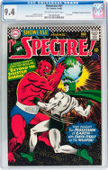 Silver Age (1956-1969):Horror, Showcase #61 The Spectre - Don/Maggie Thompson Collection pedigree(DC, 1966) CGC NM 9.4 Off-white to white pages....