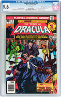 Bronze Age (1970-1979):Horror, Tomb of Dracula #49 Don/Maggie Thompson Collection pedigree(Marvel, 1976) CGC NM+ 9.6 White pages....