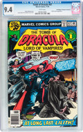 Bronze Age (1970-1979):Horror, Tomb of Dracula #67 Don/Maggie Thompson Collection pedigree(Marvel, 1978) CGC NM 9.4 White pages....