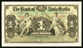 Canadian Currency: , Kingston, Jamaica- The Bank of Nova Scotia £1 January 2, 1900 CH. #550-38-02-02P Face Proof. ... (Total: 2 notes)