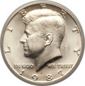 Kennedy Half Dollars: , 1987-D 50C MS68 PCGS. PCGS Population (6/0). NGC Census: (1/0).Mintage: 2,890,758. ...