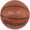 Basketball Collectibles:Balls, Magic Johnson Signed Basketball....