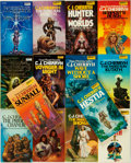 Books:Pulps, [Science-Fiction Paperbacks]. C.J. Cherryh. Group of Fourteen DAWScience-Fiction Paperbacks. New York: DAW, [1970-80s]. Pub...(Total: 14 Items)