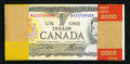 Canadian Currency: , BC-46b 1973 $1 Original Pack. ...