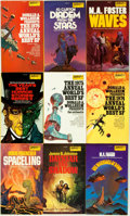 Books:Pulps, [Science-Fiction Paperbacks]. Group of Twenty-Six DAWScience-Fiction Paperbacks. New York: DAW, [1970-80s]. Includesworks ... (Total: 26 Items)
