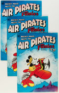 Bronze Age (1970-1979):Alternative/Underground, Air Pirates Funnies #1 Group (Hell Comics Group, 1971) Condition: Average VF.... (Total: 7 Comic Books)