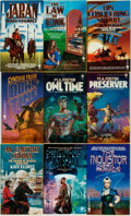 Books:Pulps, [Science-Fiction Paperbacks]. Group of Forty-Three DAWScience-Fiction Paperbacks. New York: DAW, [1980s]. Includes worksby... (Total: 43 Items)