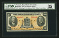Canadian Currency: , Montreal, PQ- The Royal Bank of Canada $10 1935 Ch. # 630-18-04a....