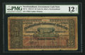 Canadian Currency: , St. John's, NF- Newfoundland Government Cash Note 25¢ 1912-13 Ch. # NF-7c. ...