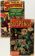 Golden Age (1938-1955):Science Fiction, Tales of Suspense #1 and 52 Group (Marvel, 1959-64) Condition:Average FR.... (Total: 2 Comic Books)