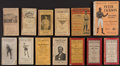 Boxing Collectibles:Memorabilia, 1909-28 Boxing Booklets Lot of 13....