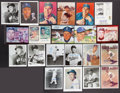 Baseball Collectibles:Photos, Dodgers Greats Signed Photographs Lot of 22....