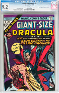 Bronze Age (1970-1979):Horror, Giant-Size Dracula #3 Don/Maggie Thompson Collection pedigree(Marvel, 1974) CGC NM- 9.2 White pages....