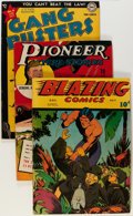 Golden Age (1938-1955):Miscellaneous, Comic Books - Assorted Golden Age Comics Group (Various Publishers, 1940s-'50s) Condition: Average VG.... (Total: 5 Comic Books)