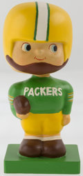 Football Collectibles:Others, 1960 Green Bay Packers Wood Base Nodder - Extremely Rare! ...