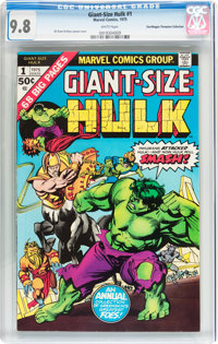 Giant-Size Hulk #1 Don/Maggie Thompson Collection pedigree (Marvel, 1975) CGC NM/MT 9.8 White pages