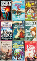 Books:Pulps, [Fantasy Paperbacks]. Group of Forty-Six Del Ray FantasyPaperbacks. New York: Del Ray, [1980s]. Includes works byDonaldson... (Total: 46 Items)